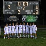 Reeths-Puffer High School Boys Varsity Soccer defeats Fruitport HS 2-0