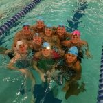 Mona Shores High School/Reeths-Puffer High School Girls Varsity Swimming finishes 4th place