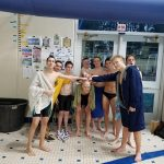 Mona Shores High School/Reeths-Puffer High School Boys Varsity Swimming finishes 6th place