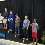 Mona Shores High School/Reeths-Puffer High School Boys Varsity Swimming finishes 35th place