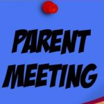 High School Parent Meeting
