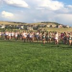 Frontier Academy High School Girls Varsity Cross Country finishes in 9th place