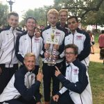 Frontier Academy High School Varsity Cross Country finishes 1st place