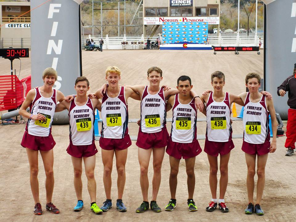 Frontier Academy High School Boys Cross Country Finishes in 5th Place