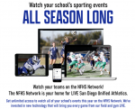 Watch our Home Games LIVE via NFHS for FREE!