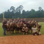 Magnolia West Softball Defeats Austin 10-0 in Bidistrict Playoff Game