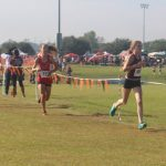 Magnolia West High School Girls Varsity Cross Country finishes 15th place