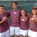 Magnolia West High School Coed Varsity Tennis falls to Cy-Fair High School 14-5