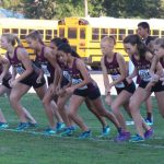 Magnolia West High School Girls Varsity Cross Country finishes 5th place