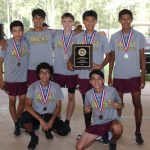Magnolia West High School Boys Varsity Cross Country finishes 1st place