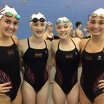 Magnolia West High School Varsity Swimming finishes 3rd place