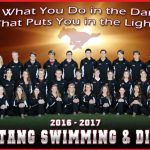 Magnolia West High School Coed Varsity Swimming finishes 3rd place