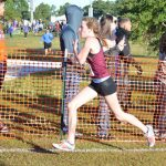 Magnolia West Cross Country Runners at Regionals