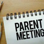 Football Parents Meeting