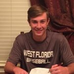 Hunter Lucas Signs to Play Baseball at West Florida