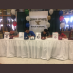 Four Baseball Players Sign Scholarships