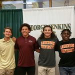 Six Eagles Sign to Play College Football