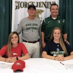 Two Softball Players Sign to Go JuCo