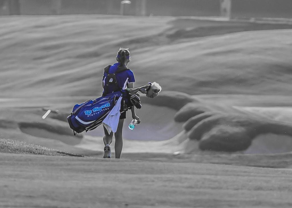 Lady Highlander Golf: La Habra vs. Troy (9/18/18)