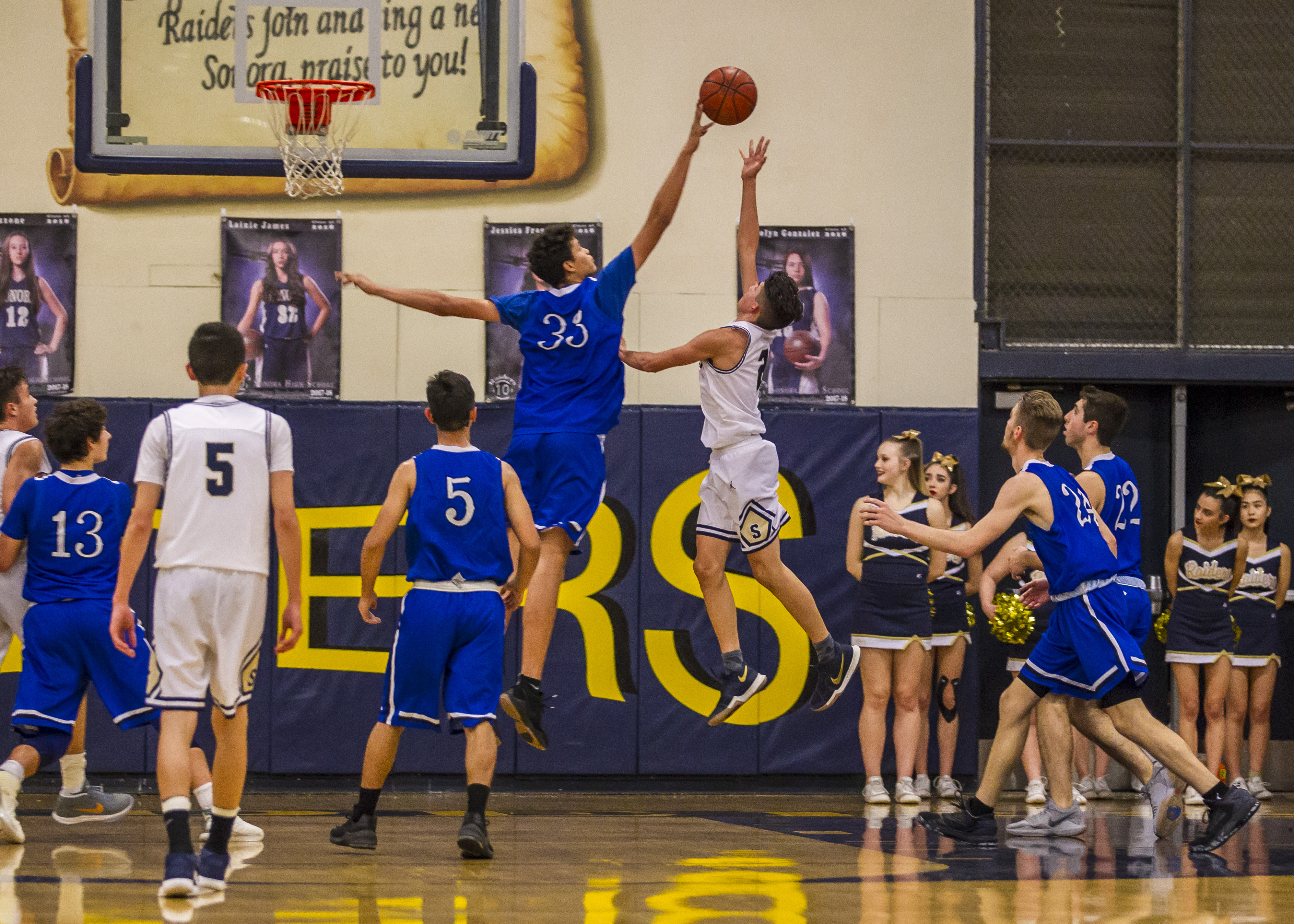 Boys Basketball: La Habra @ Westminster (11/20/18)