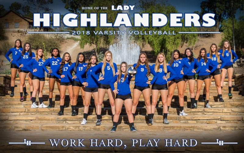 Volleyball: La Habra @ Troy   (9/18/18)
