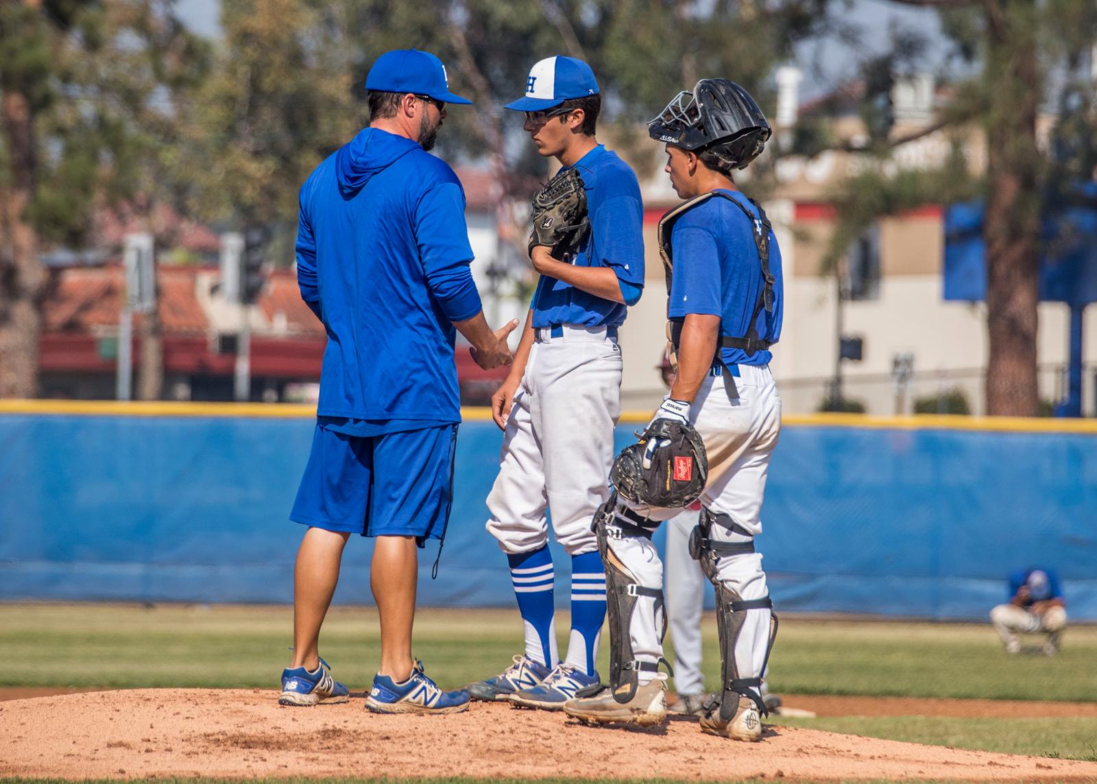 Highlander Baseball: La Habra vs Sunny Hills (4/3/2019)