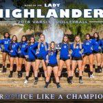 Girls Varsity Volleyball!