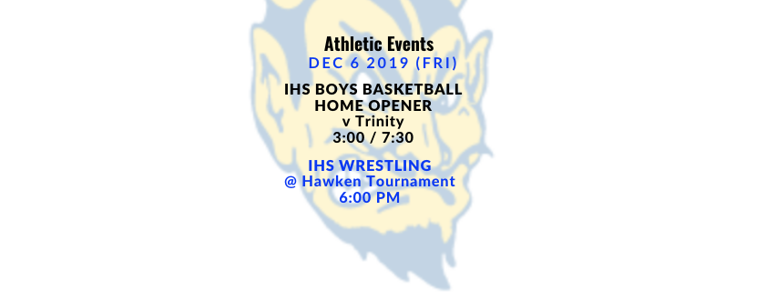 Athletic Events 12/6/19