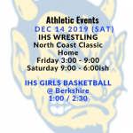 Athletic Events 12/14/19