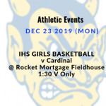 Athletic Events 12/23/19