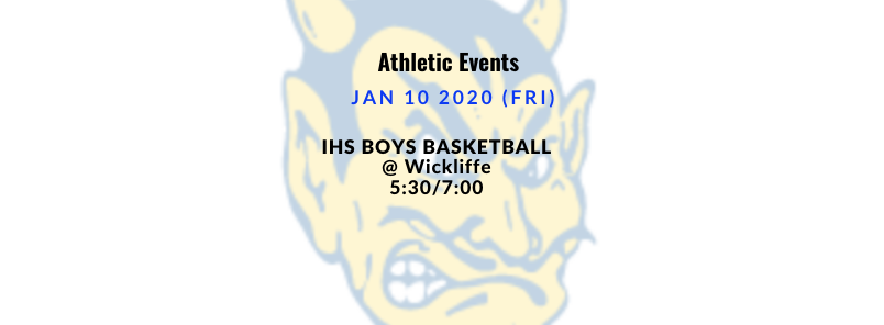 Athletic Events 1/10/2020