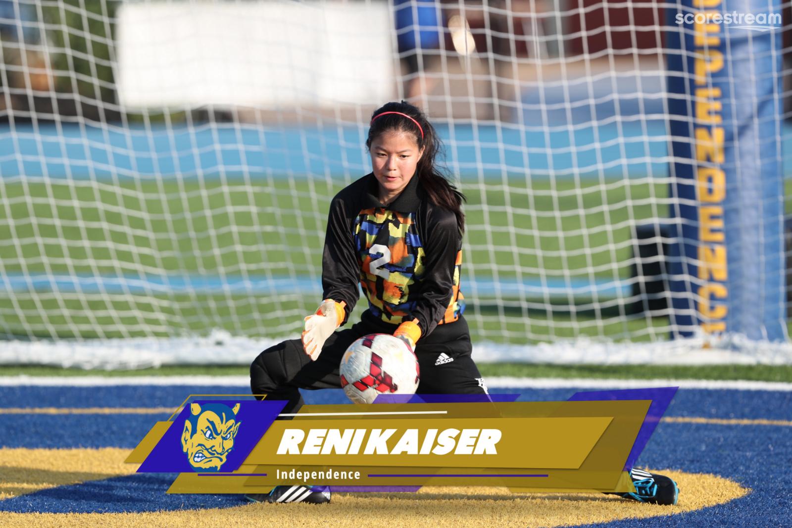 Let's Meet IHS Senior Athlete: Reni Kaiser
