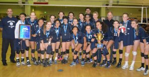 GIRLS DIVISION 1 VOLLEYBALL CHAMPIONS
