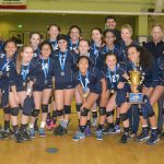 CIF LA DIVISION 1 GIRLS VOLLEYBALL CHAMPIONS