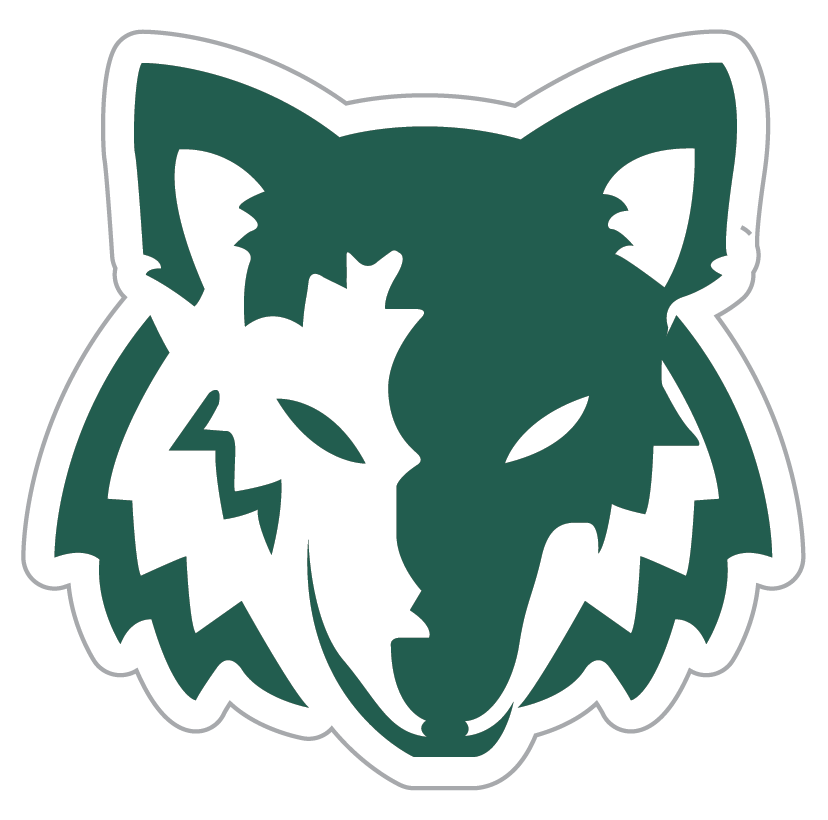 green wolves logo clipart library