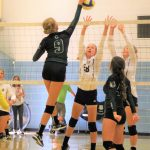 Girls Varsity Volleyball beats Alta 3 – 1