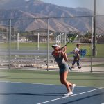 GC Girls Varsity Tennis 2-3 vs. Logan