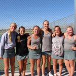 Phillips, Gray & Dursteler take Region tennis medals