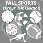 Fall Sport Tryouts