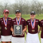 Lady Bulldog Golf wins consecutive district title