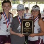 Magnolia High School Girls Varsity Cross Country finishes 1st place