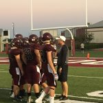 Magnolia High School Freshman Football Maroon beat Huntsville High School 52-34
