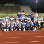 BBJH 8th Grade Football A beat Woodridge 13-6