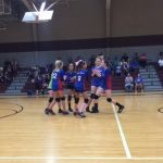 Magnolia Girls 7th Grade Volleyball B beat Magnolia Junior High 2-1
