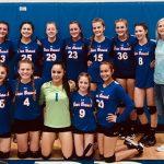Girls 8th Grade Volleyball beats Brabham 2 – 1