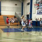 Girls 7th Grade Basketball beats Creekside 20 – 10