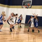 Girls 7th Grade Basketball beats Oak Hills 11 – 8