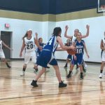 Girls 7th Grade Basketball falls to Oak Hills JH 30 – 7