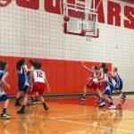 Girls 7th Grade Basketball beats Tomball JH 35 – 25
