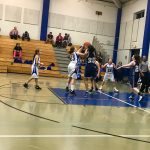 Girls 7th Grade Basketball falls to Willow Wood Junior High 21 – 15